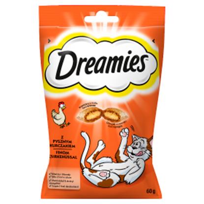 Obrazek Dreamies Karma uzupełniająca z pysznym kurczakiem 60 g