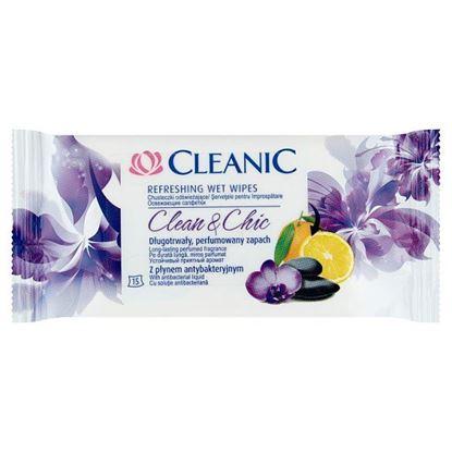Cleanic Clean & Chic Chusteczki odświeżające 15 sztuk