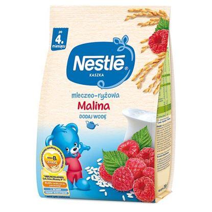 Nestlé Kaszka mleczno-ryżowa malina po 4. miesiącu 230 g