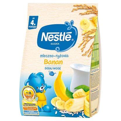 Nestlé Kaszka mleczno-ryżowa banan po 4. miesiącu 230 g