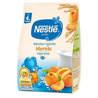 Nestlé Kaszka mleczno-ryżowa morela po 4. miesiącu 230 g