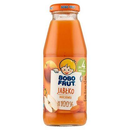 Bobo Frut 100% sok jabłko marchewka po 4. miesiącu 300 ml