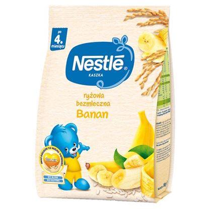 Nestlé Kaszka ryżowa bezmleczna banan po 4. miesiącu 180 g