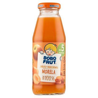 Bobo Frut 100% sok jabłko marchewka morela po 5. miesiącu 300 ml