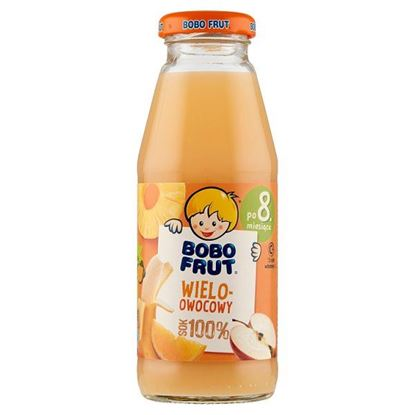 Bobo Frut 100% sok wieloowocowy po 8. miesiącu 300 ml