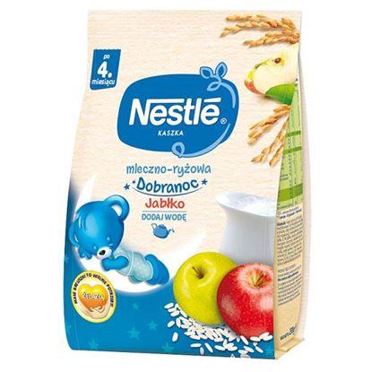 Nestlé Kaszka dobranoc mleczno-ryżowa jabłko po 4. miesiącu 230 g