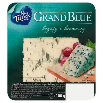 NaTurek Grand Blue Ser z niebieską pleśnią bogaty i kremowy 100 g