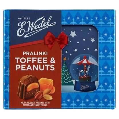 E. Wedel Toffee & Peanuts Pralinki 42 g