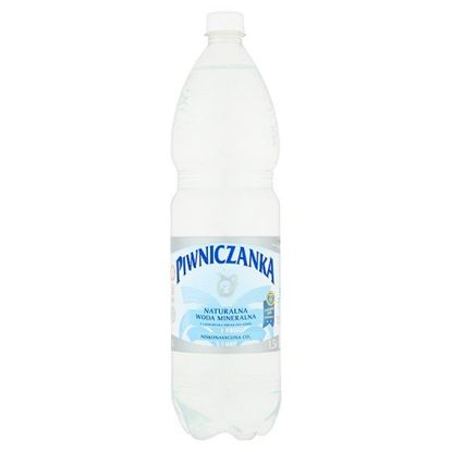 Piwniczanka Naturalna woda mineralna niskonasycona CO2 1,5 l