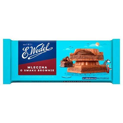 E. Wedel Czekolada mleczna o smaku deseru brownie 290 g