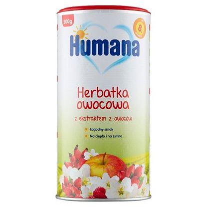 Humana Herbatka owocowa z ekstraktem z owoców po 8. miesiącu 200 g