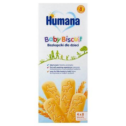 Humana Biszkopciki dla dzieci od 8. miesiąca 180 g (4 x 45 g)