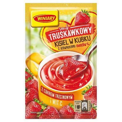 Winiary Kisiel w kubku smak truskawkowy 26 g