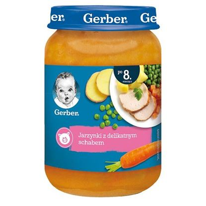 Gerber Jarzynki z delikatnym schabem dla niemowląt po 8. miesiącu 190 g