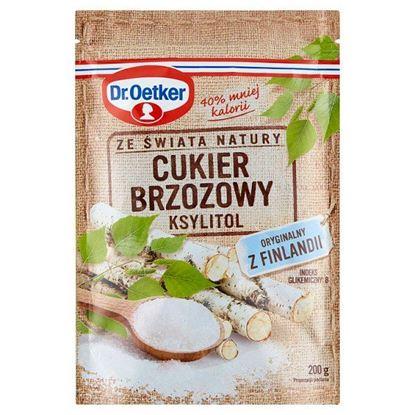 Dr. Oetker Ze świata natury Cukier brzozowy ksylitol 200 g