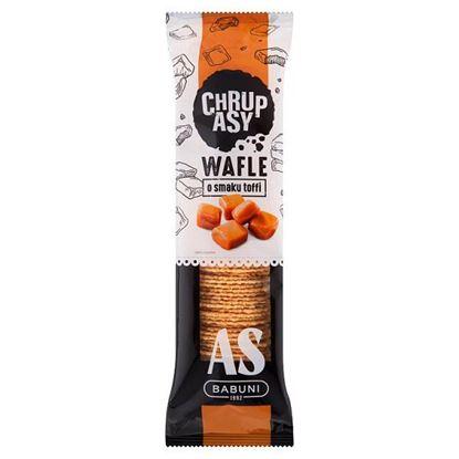 As-Babuni Chrupasy Wafle o smaku toffi 90 g