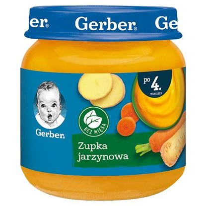 Gerber Zupka jarzynowa dla niemowląt po 4. miesiącu 125 g