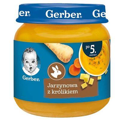 Gerber Jarzynowa z królikiem dla niemowląt po 5. miesiącu 125 g
