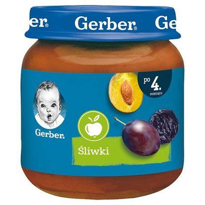 Gerber Śliwki dla niemowląt po 4. miesiącu 125 g