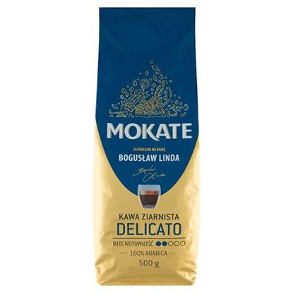 Mokate Delicato Kawa ziarnista 500 g