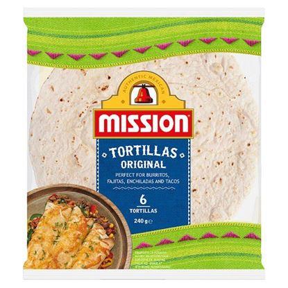 Mission Original Tortille 240 g (6 sztuk)