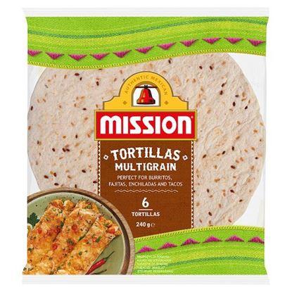 Mission Multigrain Tortille 240 g (6 sztuk)