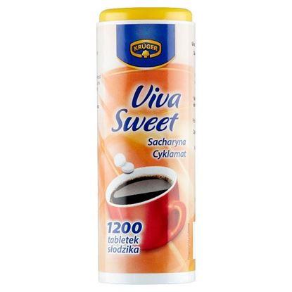 Krüger Viva Sweet Słodzik stołowy w tabletkach 72 g (1200 sztuk)