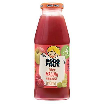 Bobo Frut Sok 100% jabłko malina winogrona dla niemowląt po 4. miesiącu 300 ml