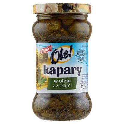 Ole! Kapary w oleju ziołami 180 g