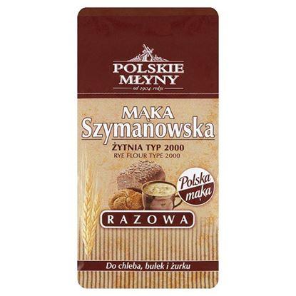 Polskie Młyny Mąka Szymanowska Razowa żytnia typ 2000 800 g