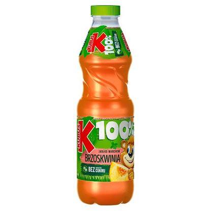 Kubuś 100% Sok jabłko marchew brzoskwinia 850 ml