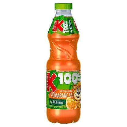 Kubuś 100% Sok jabłko marchew pomarańcza 850 ml