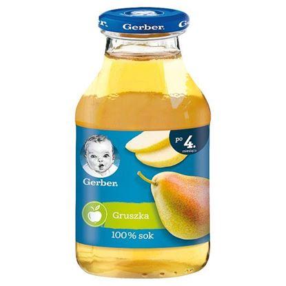 Gerber Sok 100% gruszka dla niemowląt po 4. miesiącu 200 ml