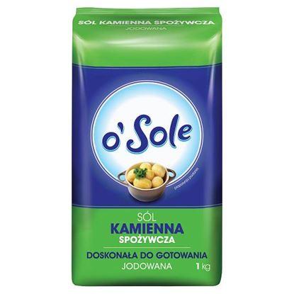 o'Sole Sól kamienna spożywcza jodowana 1 kg
