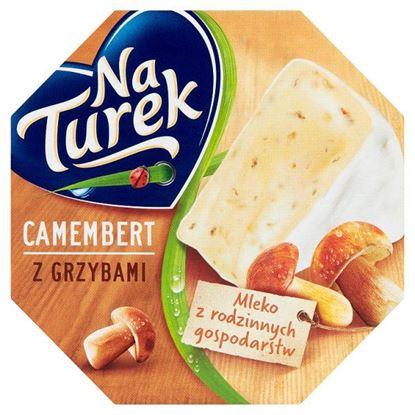 NaTurek Ser pleśniowy camembert z grzybami 120 g
