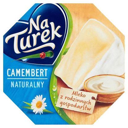 NaTurek Ser pleśniowy camembert naturalny 120 g