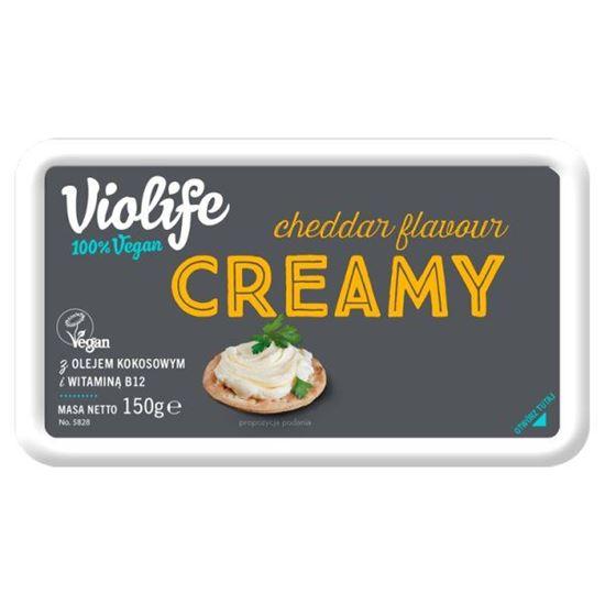 Violife Produkt na bazie oleju kokosowego o smaku cheddar kremowy 150 g
