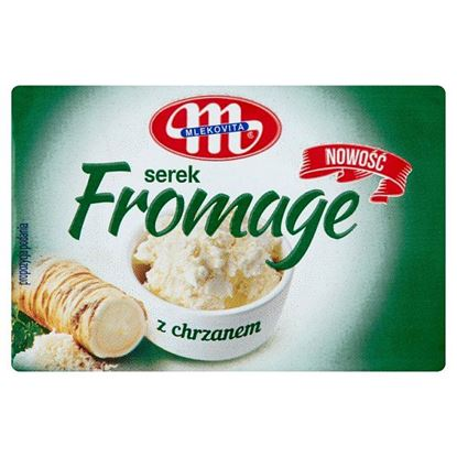 Mlekovita Serek fromage z chrzanem 80 g