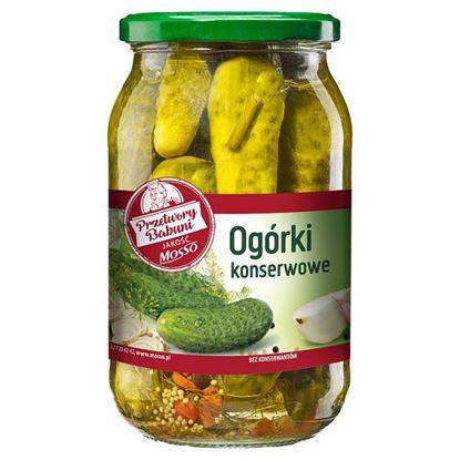 Mosso Ogórki konserwowe 870 g