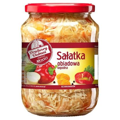 Mosso Sałatka obiadowa 640 g