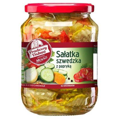 Mosso Sałatka szwedzka z papryką 640 g