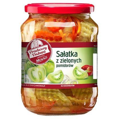 Mosso Sałatka z zielonych pomidorów 640 g
