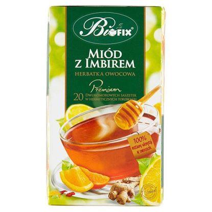 Bifix Premium Herbatka owocowa miód z imbirem 40 g (20 x 2 g)
