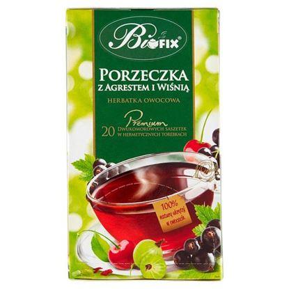 Bifix Premium Herbatka owocowa porzeczka z agrestem i wiśnią 40 g (20 x 2 g)
