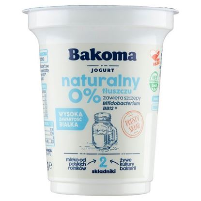 Bakoma Jogurt naturalny 350 g