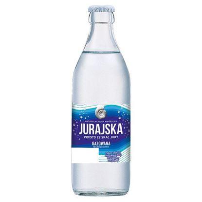Jurajska Naturalna woda mineralna gazowana 0,33 l