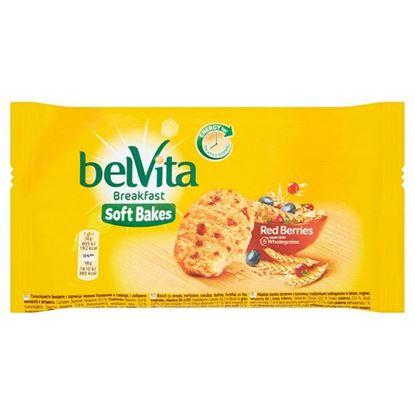 belVita Breakfast Red Berries Ciastka zbożowe 50 g