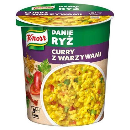 Knorr Danie ryż curry z warzywami 73 g