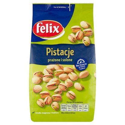 Felix Pistacje prażone i solone 380 g