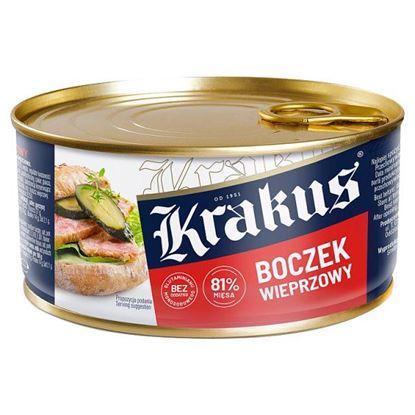 Krakus Konserwa boczek wieprzowy 300 g